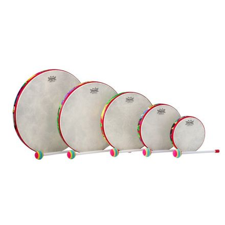 Remo Kids Percussion Frame Drum - Fabric Rain Forest, Pack