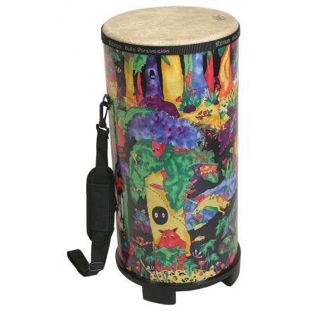 Remo Kids Percussion Konga Drum - Fabric Rain Forest, 6