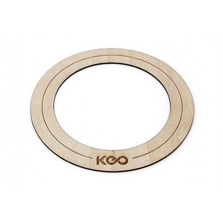 Keo Percussion Bass Wood O Ring Medium