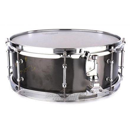 Keplinger Black Iron Snare Drum 14x5.5 8-Lug