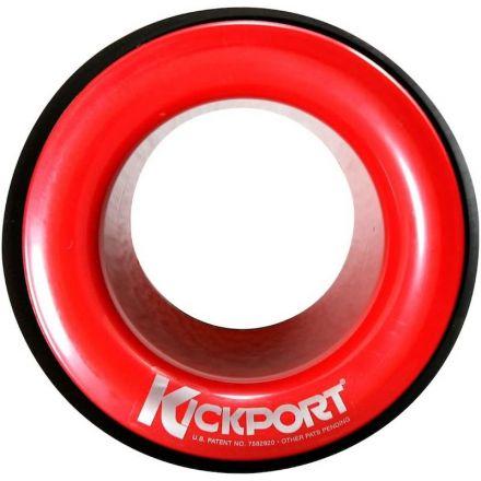Kickport Sonic Enhancement Bass Drum Port Insert - Red
