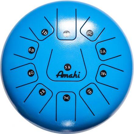 Amahi Steel Tongue Drum 12 - Blue