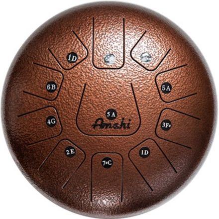 Amahi Steel Tongue Drum 12 - Bronze
