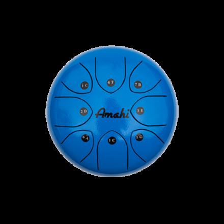 Amahi Steel Tongue Drum 6 - Blue