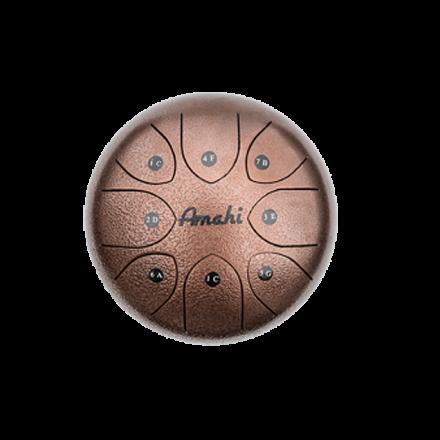 Amahi Steel Tongue Drum 6 - Bronze