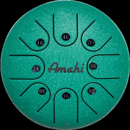 Amahi Steel Tongue Drum 6 - Green