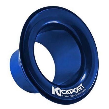 Kickport Sonic Enhancement Bass Drum Port Insert - Blue