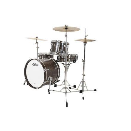 Ludwig Classic Oak 3pc Fab Drum Set Night Oak