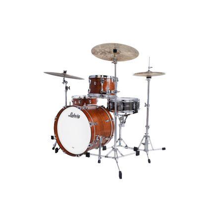 Ludwig Classic Oak 3pc Downbeat Drum Set Tennessee Whiskey