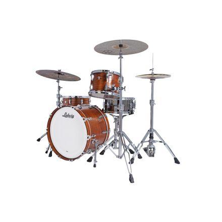 Ludwig Classic Oak 3pc Pro Beat Drum Set Tennessee Whiskey