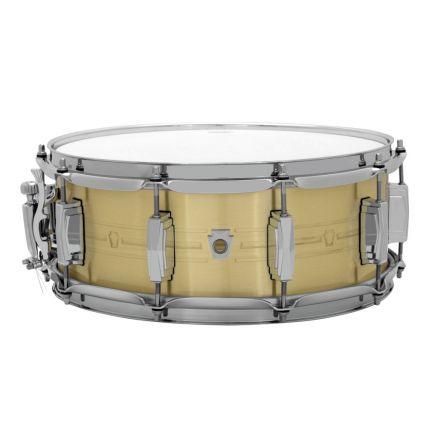 Ludwig Heirloom Brass Snare Drum 14x5.5