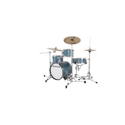 Ludwig Breakbeats 4pc Drum Set Azure Blue Sparkle