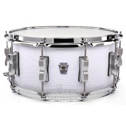 Ludwig Keystone X Snare Drum 14x6.5 Snow White
