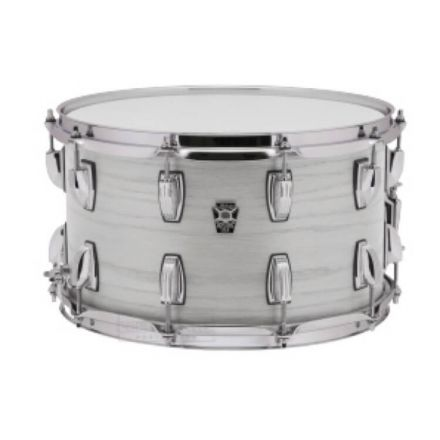 Ludwig Keystone X Snare Drum 14x8 Snow White