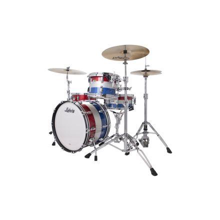 "Ludwig Legacy Maple ""Spirit of '76"" Fab Drum Set - Red White & Blue"