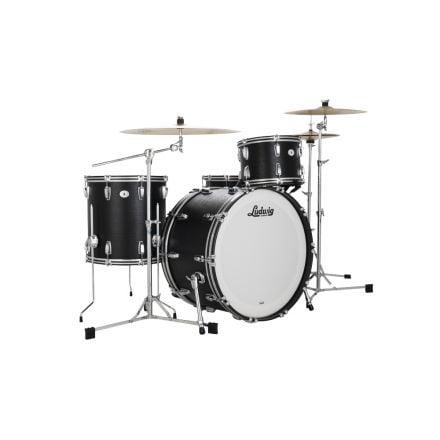Ludwig Limited Edition Legacy Mahogany Black Cat Fab Drum Set