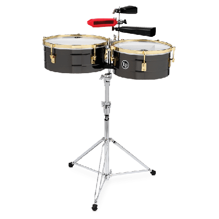 """Latin Percussion LP1416-R 14"""" and 16"""" Fausto Cuevas III Signature Timbales"""