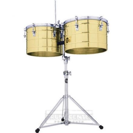 LP Tito Puente 15 & 16 Thunder Timbs - Solid Brass