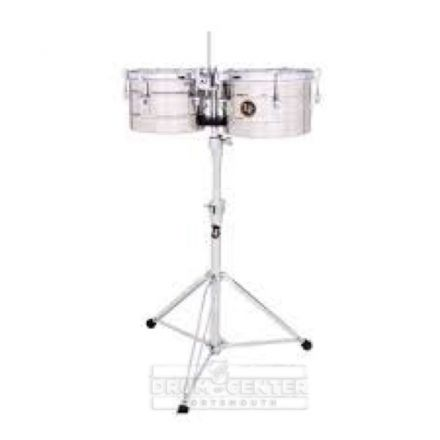 LP Tito Puente 9-1/4 & 10-1/4 Timbalitos - Stainless Steel
