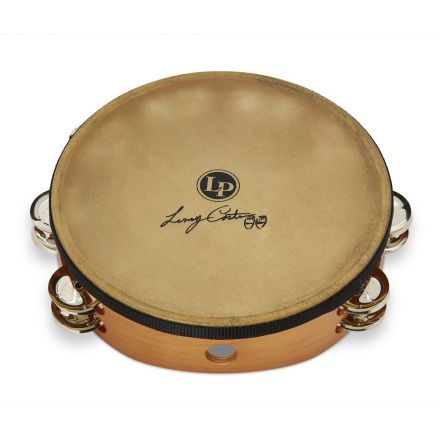 LP Lenny Castro 10in Tambourine Double Row with Bag