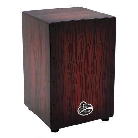 LP Aspire Accents Cajon - Dark Wood Streak