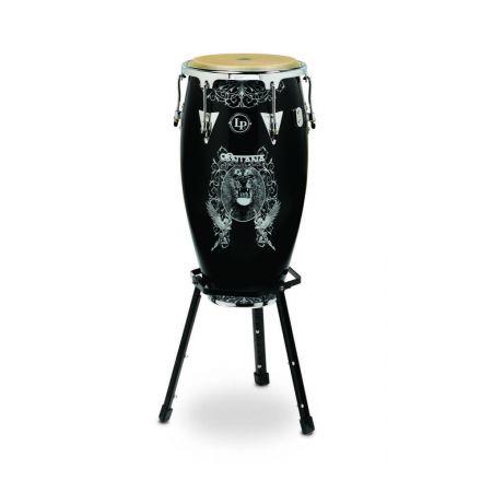 "Latin Percussion LP Aspire LPA622SNL 12"" Tumba Santana IV Art with Chrome Hw"