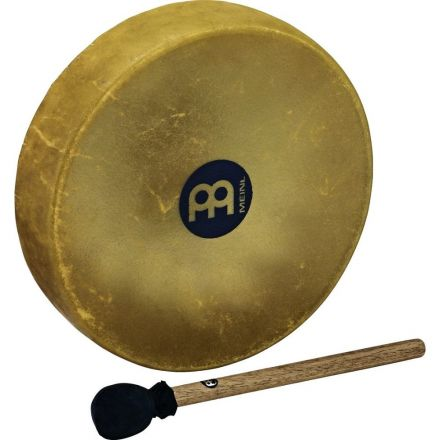 Meinl Native American-Style Hoop Drum 12 1/2 Buffalo Head with Beater