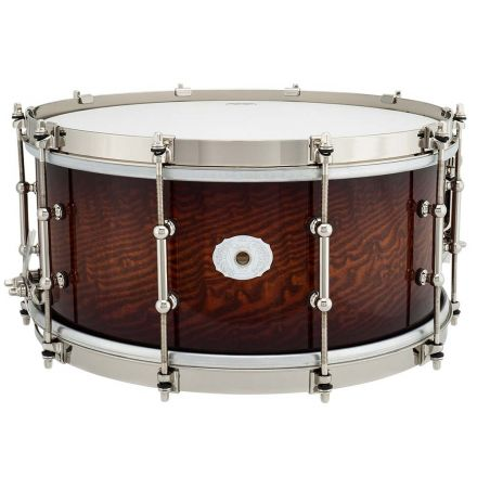Ludwig Limited Edition Aged Exotic Tamo Ash Snare Drum - 14x6.5 - Cherry Caramel