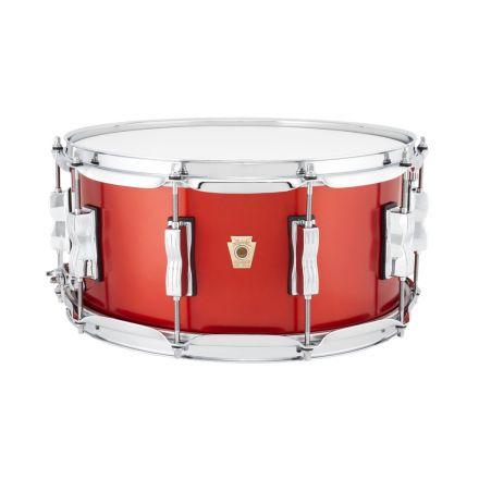 Ludwig Classic Maple Snare Drum - 14x6.5 - Diablo Red