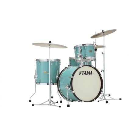 Tama S.L.P. Fat Spruce 3pc Shell Pack w/ 20bd - Turquoise