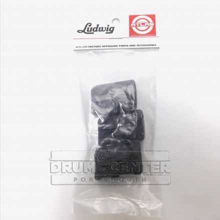 Ludwig Atlas Classic One-Position Rubber Foot 3-Pack