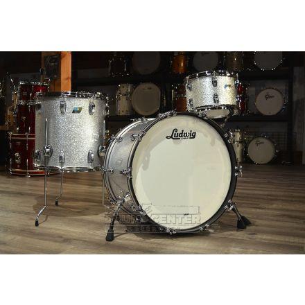 Ludwig Classic Maple 3pc 22/12/16 Drum Set - Silver Sparkle