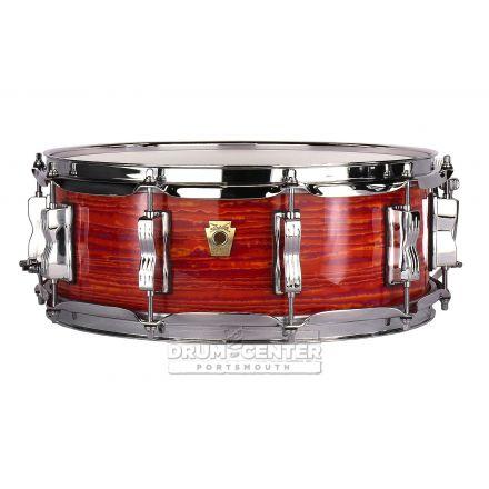 Ludwig Classic Maple Snare Drum - 14x5 - Mod Orange
