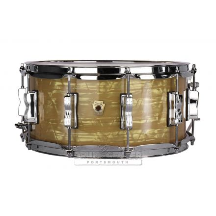 Ludwig Classic Maple Snare Drum - 14x6.5 - Aged Onyx