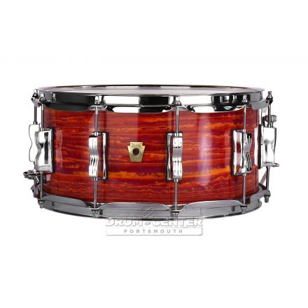 Ludwig Classic Maple Snare Drum - 14x6.5 - Mod Orange