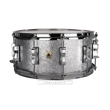 Ludwig Classic Maple Snare Drum - 14x6.5 - Silver Sparkle