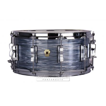 Ludwig Classic Maple Snare Drum - 14x6.5 - Vintage Blue Oyster