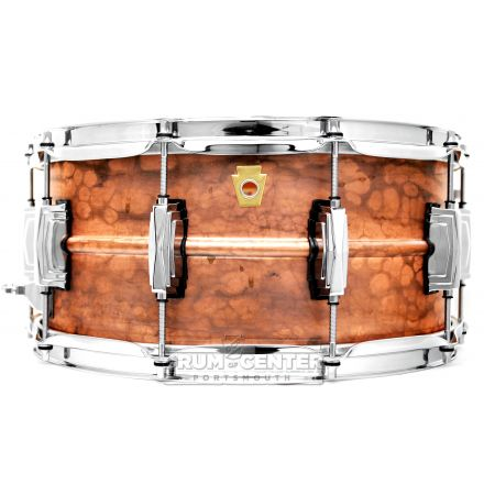 Ludwig Copper Phonic Snare Drum 14x6.5 Raw
