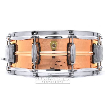 Ludwig Copper Phonic Snare Drum 14x5 Hammered