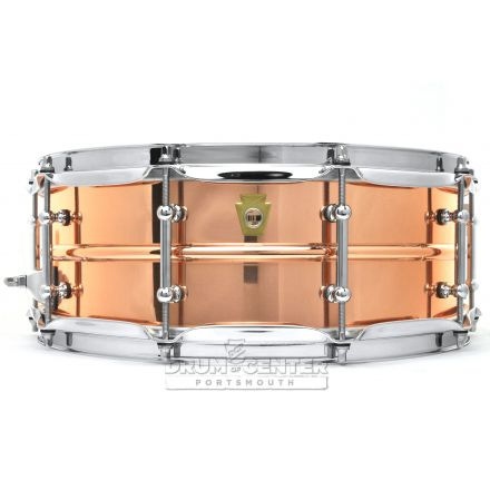 Ludwig Copper Phonic Snare Drum 14x5 w/ Tube Lugs