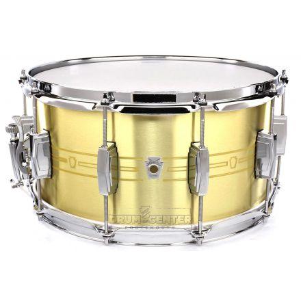 Ludwig Heirloom Brass Snare Drum 14x7