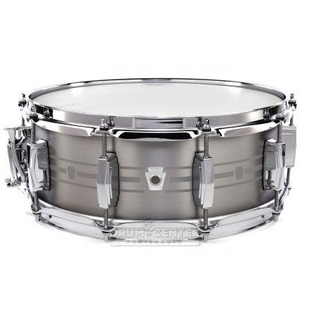 Ludwig Heirloom Stainless Steel Snare Drum 14x5.5