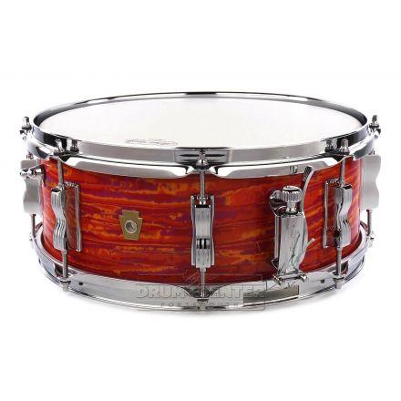 Ludwig Legacy Mahogany Jazz Fest Snare Drum 14x5.5 Mod Orange