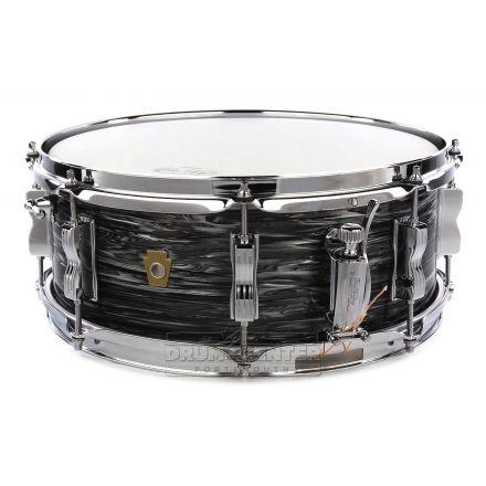 Ludwig Legacy Mahogany Jazz Fest Snare Drum 14x5.5 Vintage Black Oyster