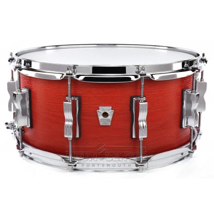 Ludwig Keystone X Snare Drum 14x6.5 Sienna Fire