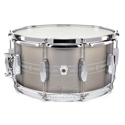 Ludwig Heirloom Stainless Steel Snare Drum 14x7