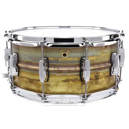 Ludwig Supraphonic Raw Brass Snare Drum 14x6.5