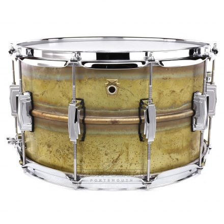 Ludwig Supraphonic Raw Brass Snare Drum 14x8