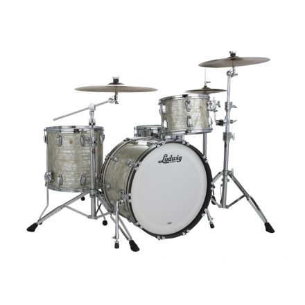 Ludwig Classic Maple 3pc Fab Outfit- Classic Olive Pearl