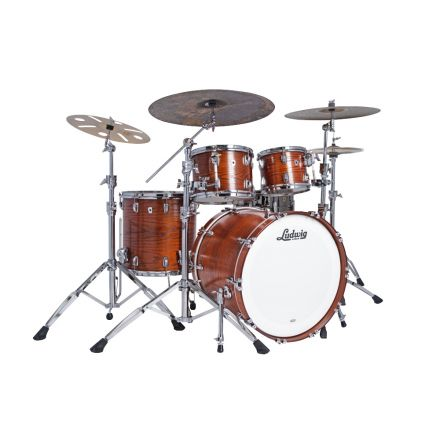 Ludwig Classic Oak 4pc Mod Drum Set Tennessee Whiskey